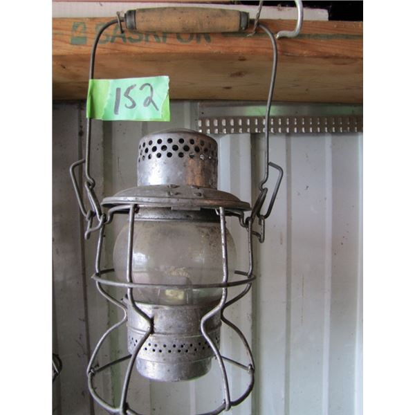 Railway switch  lantern