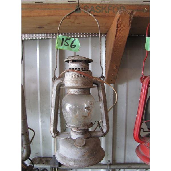 Barn lantern - electrified
