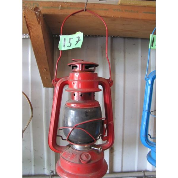 coal oil barn lantern