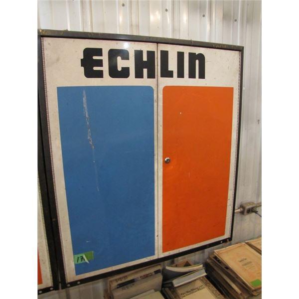 Echlin Parts cabinet - 32 X 36 -- no key
