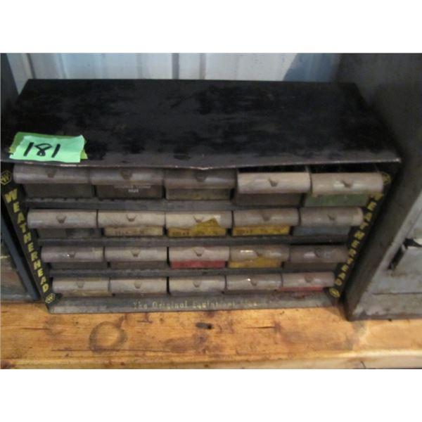 parts bin with Parts