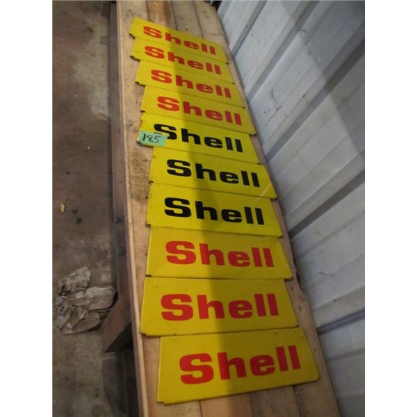 lot of ten shell signs