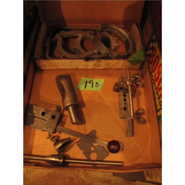 box with  blue point YA 2060 tool, flaring tool, etc.