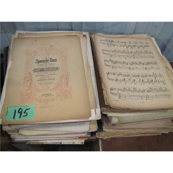 lot of assorted music in German