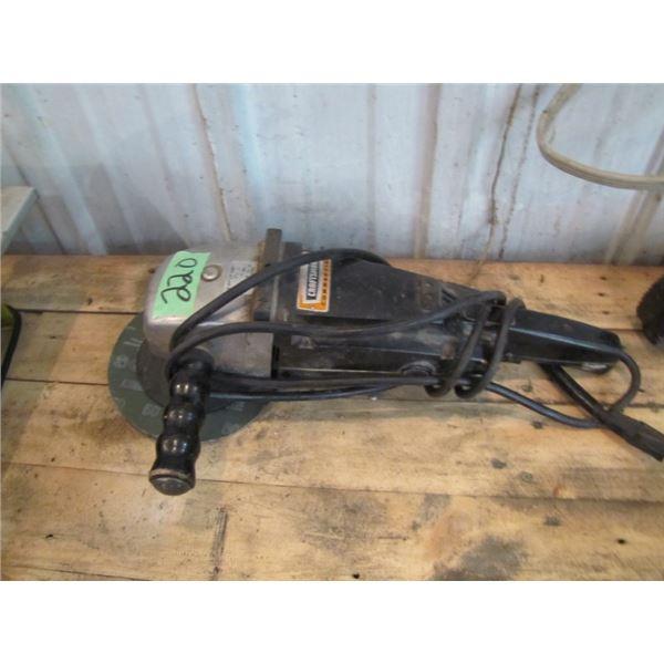 craftsman commercial angle grinder