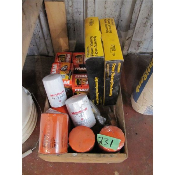 lot of oil filters - 5 Fram pH 13 and others as pictured