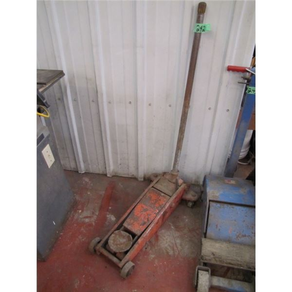 hydraulic floor jack - needs seals