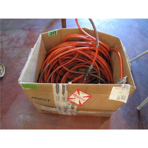 box of Port a power - jaws of life hoses