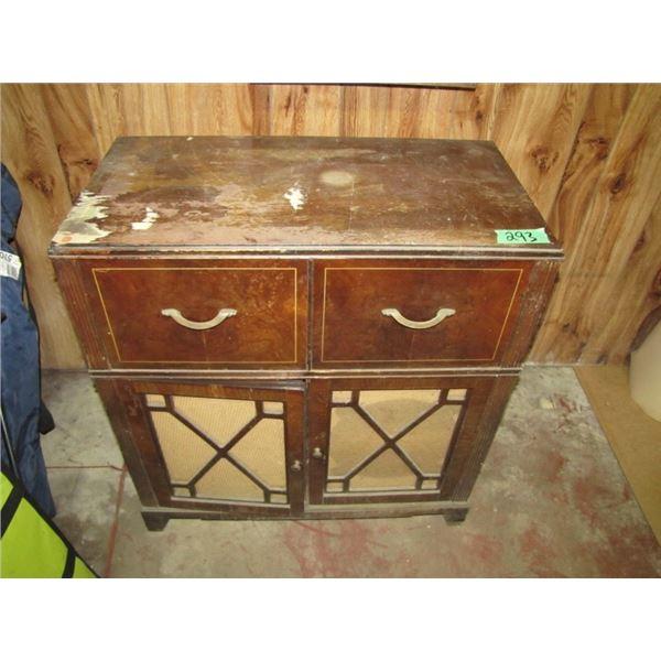 Baycrest radio record player cabinet