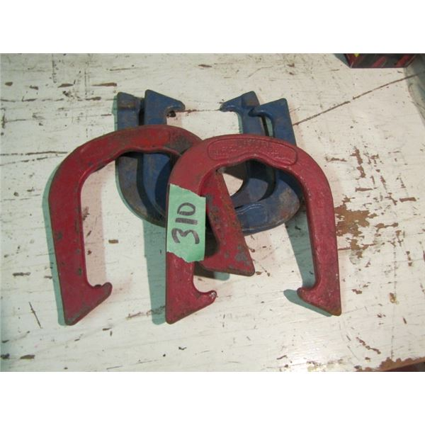 set of official horseshoes for Horseshoe game
