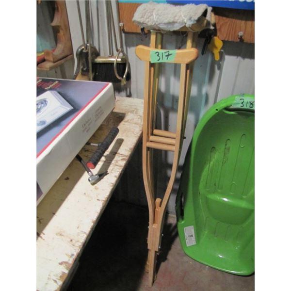 3 crutches