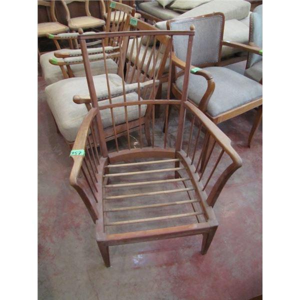 wood chair frame