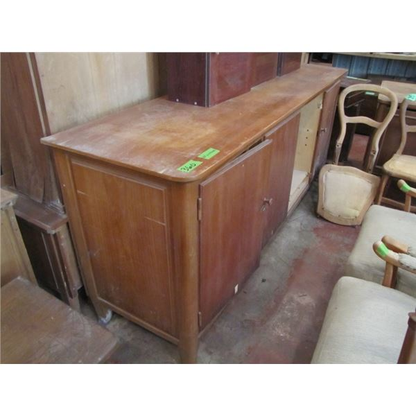 large credenza - buffet door needs to be repaired