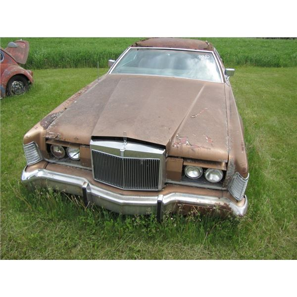 Lincoln Continental Mark IV -  for parts - have the keys -- NO TOD