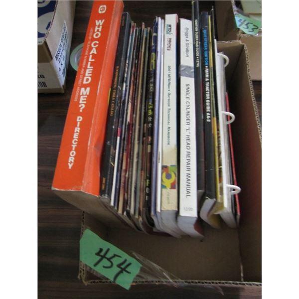 Briggs and Stratton repair book homework shop books