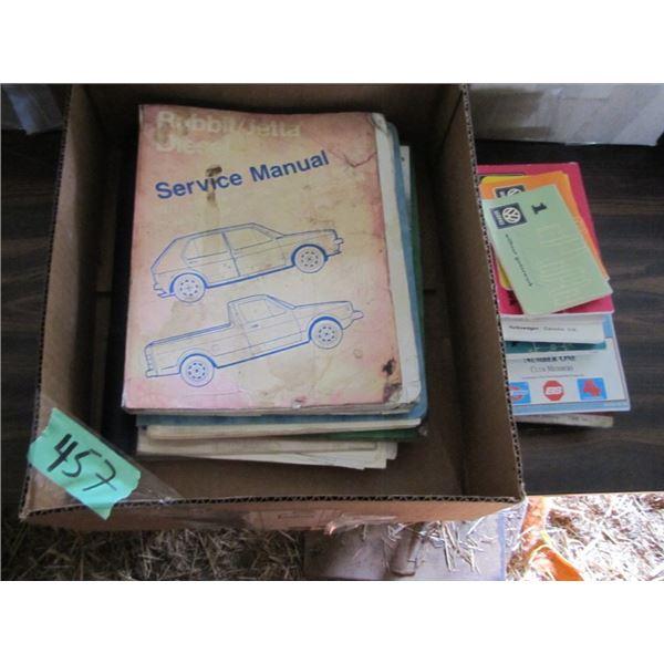 Volkswagen service books
