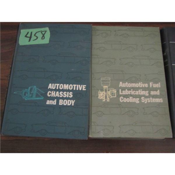 lot of automotive repair books