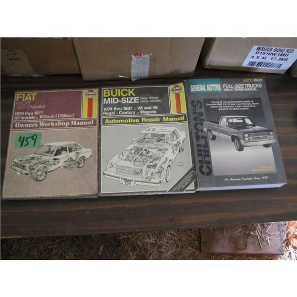 Haynes automotive repair books