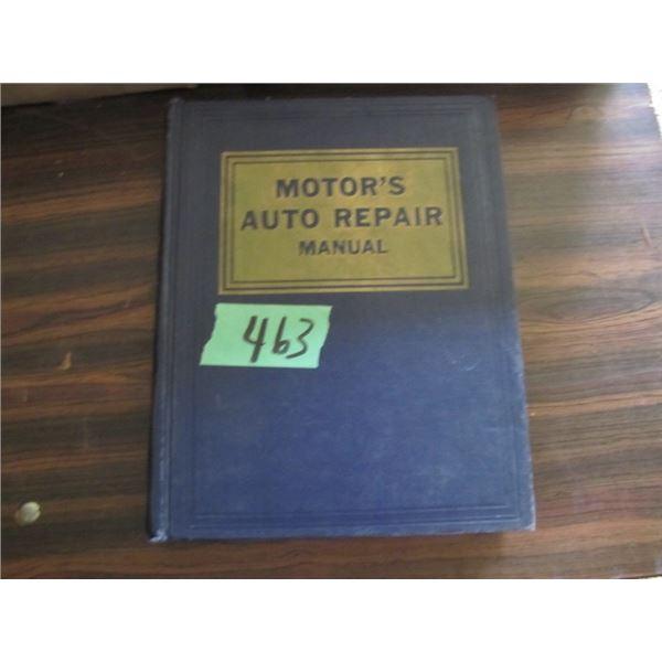 motors auto repair manual 24th edition