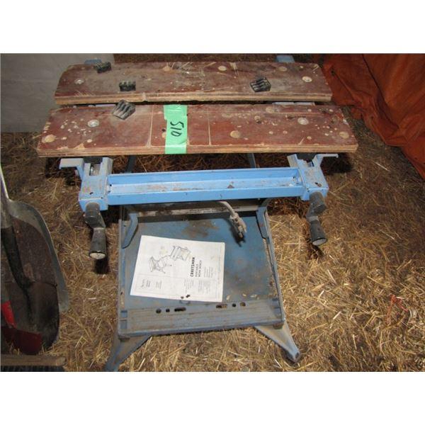 craftsman portable workbench