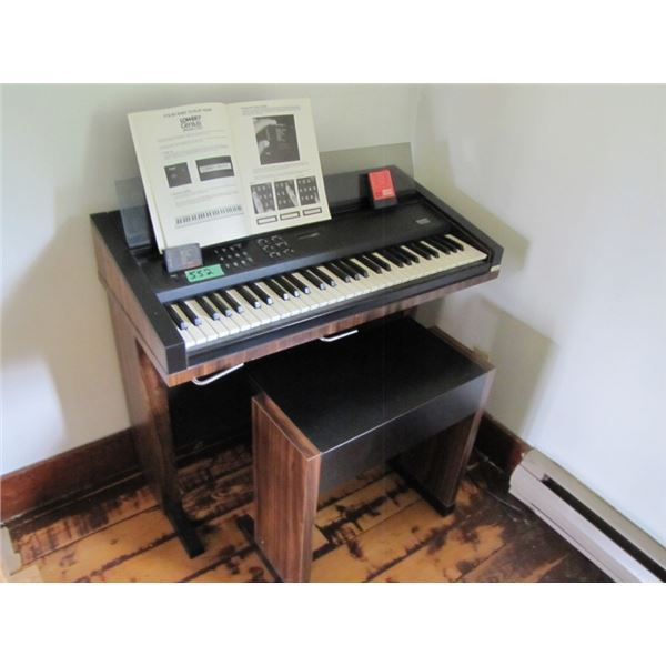 Lowrey Genius Model G100 keyboard and stool
