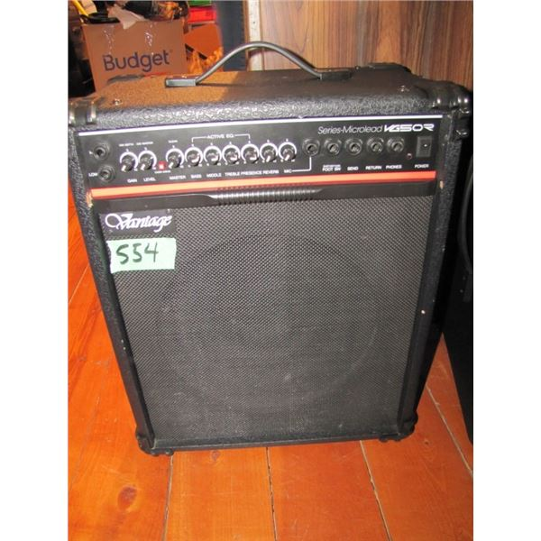 Vantage Series - Microlead VG50R Guitar amp -- tested with mic and guitar