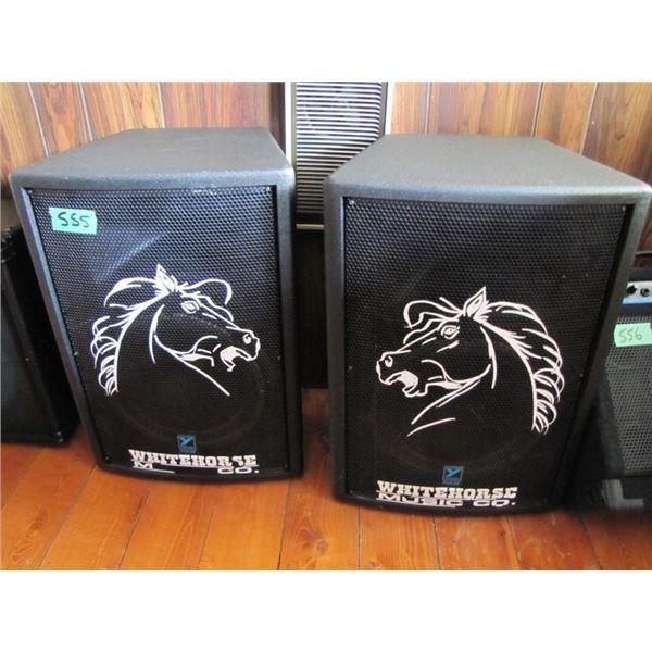 set of 2 Yorkville Pulse TL12 speakers