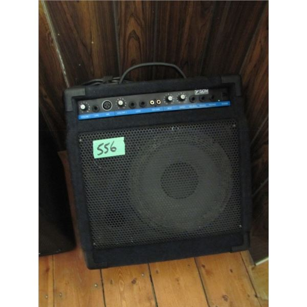 Yorkville 50W mixer amp