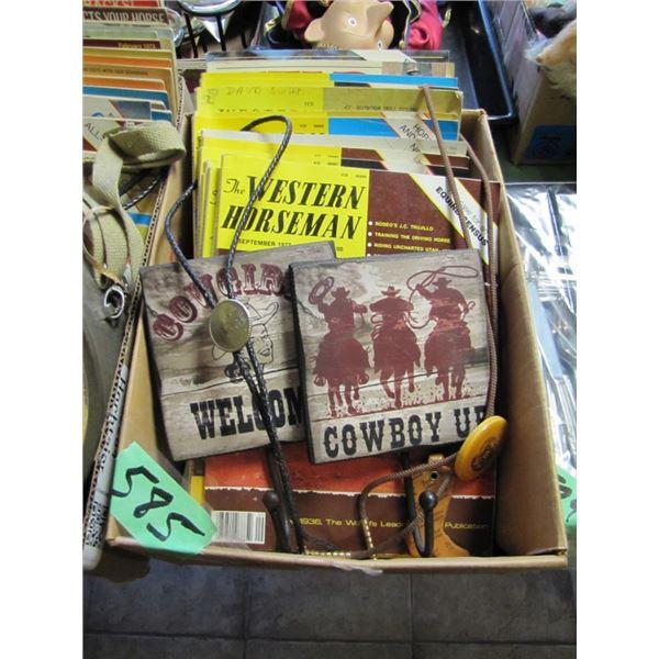 bolo ties, Western horseman magazines