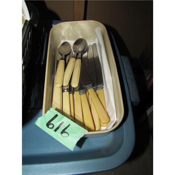 bone handle?? Cutlery