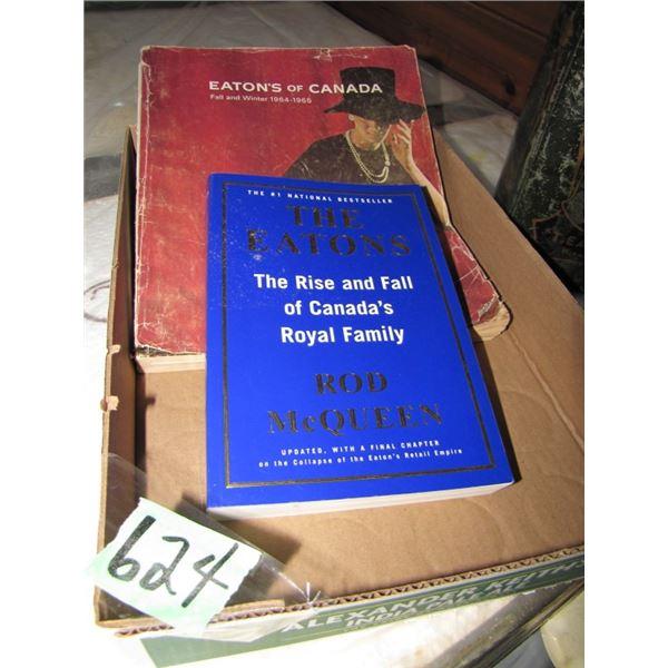 Eaton catalog, book and tin