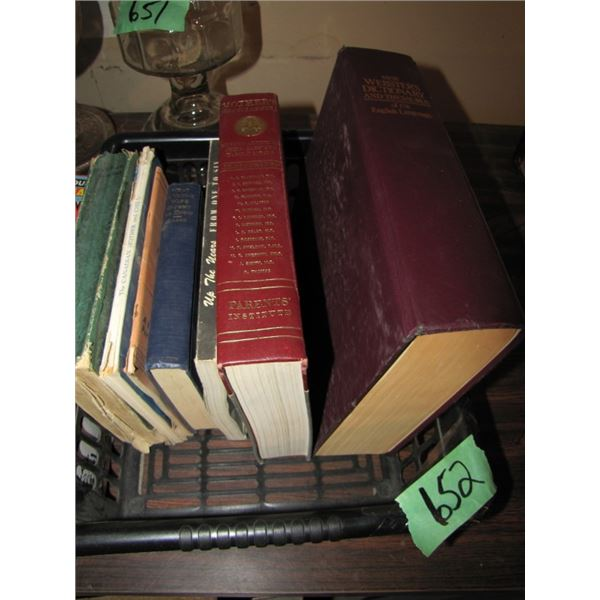 medical books and dictionary