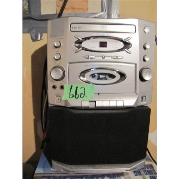 the singing machine karaoke machine