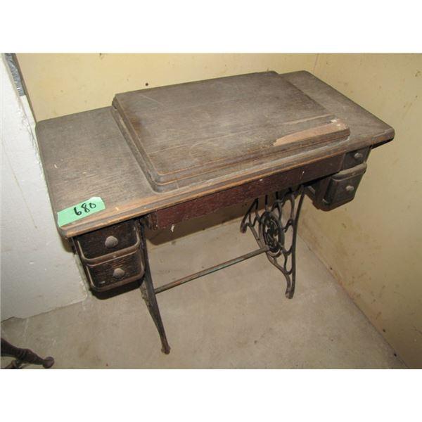 sewing machine stand - no machine