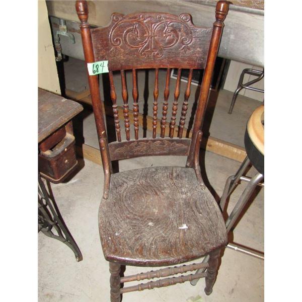 press back chair