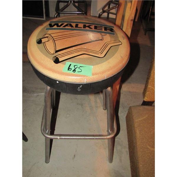 Walker muffler shop stool
