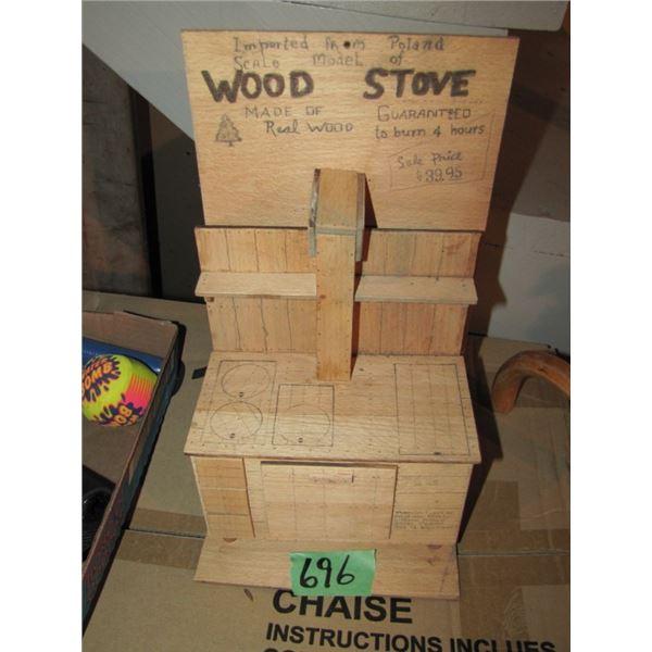 wood stove sample
