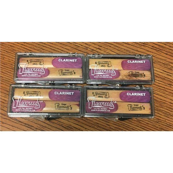 Clarinet Flavoreeds - EIGHT REEDS Grape