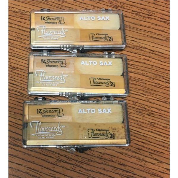 Alto Sax Flavoreeds -SIX REEDS Cinnamon