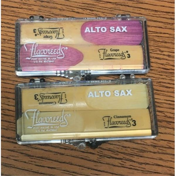 Alto Sax Flavoreeds -FOUR REEDS Cinnamon