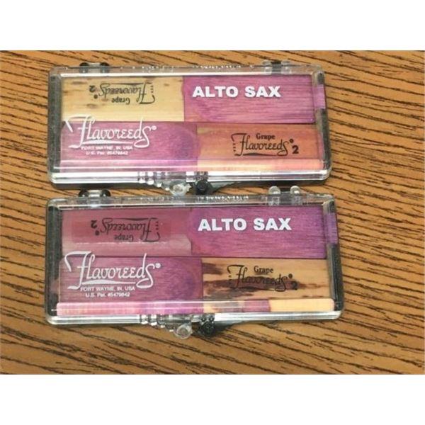Alto Sax Flavoreeds -FOUR REEDS Grape