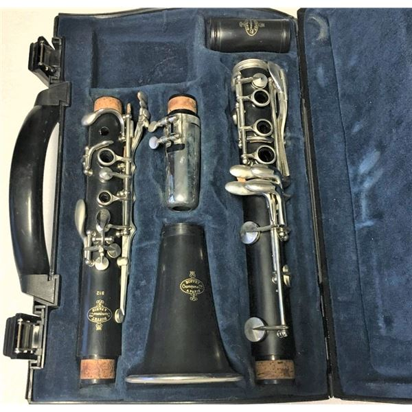 Buffet Crampon B12 Clarinet With Case and Mouthpiece  SN 659810