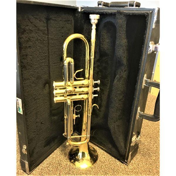 Jupiter JTR-600M Trumpet, Missing one finger button, Comes with Jupiter Mouthpiece and Case,SND06639
