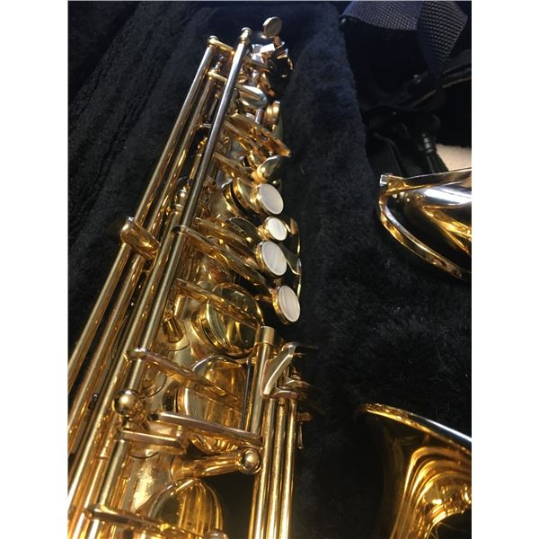 Alto Saxophone -  Jupiter JAS 769-767 With Mouthpiece, Strap and Case, SN C05035