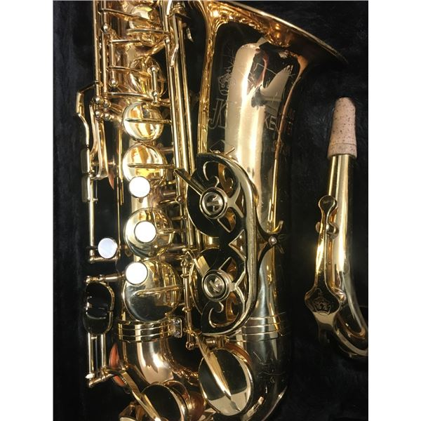 Alto Saxophone - Julius Kelworth ST 90  , with mouthpiece and case, SN 951293