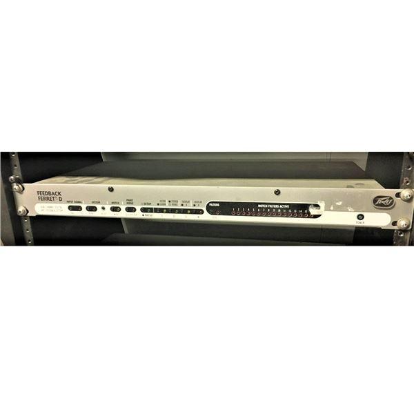 Feedback Ferret. D precision stereo digital dynamic anit-feedback filter array