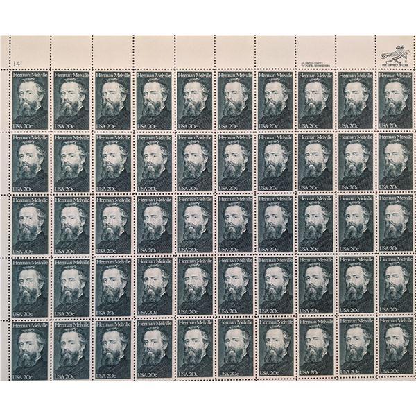 Herman Melville 20 cent Stamp Set