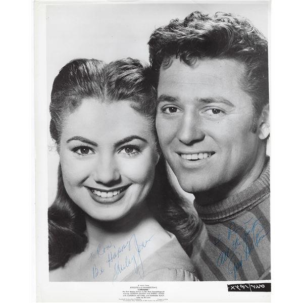 Carousel Shirley Jones and Gordon MacRae signed movie photo