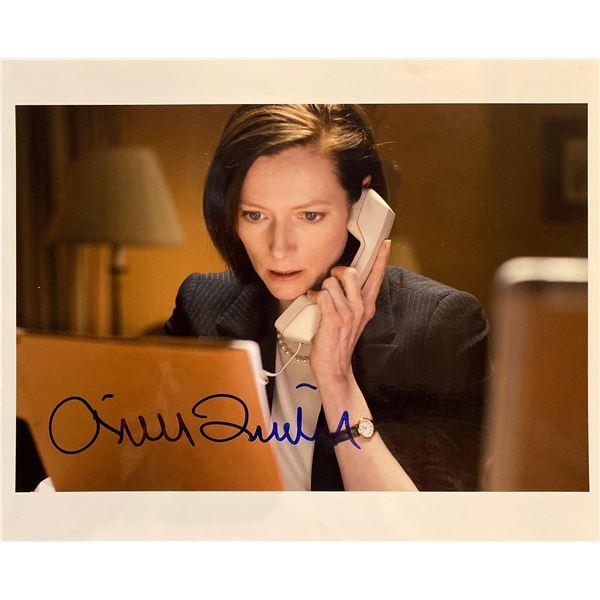 Michael Clayton Tilda Swinton signed movie photo