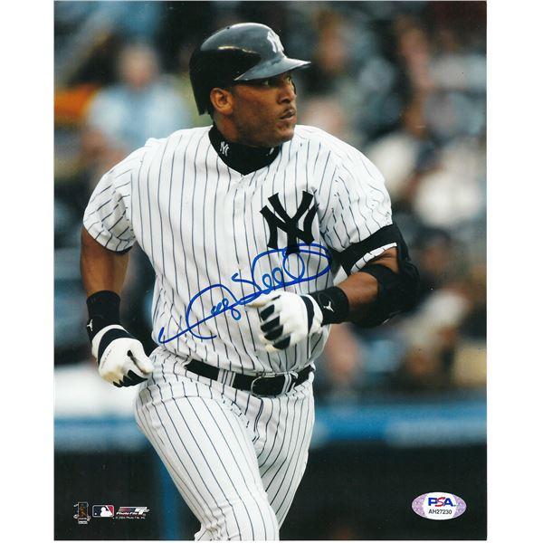 NY Yankees Gary Sheffied signed photo. PSA